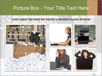 Businesswoman PowerPoint Template - Slide 19