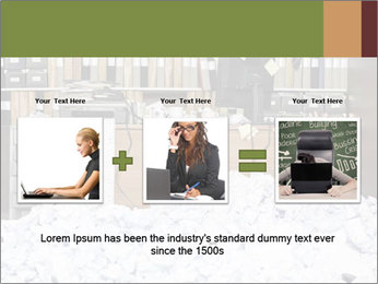 Businesswoman PowerPoint Template - Slide 22