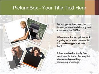 Businesswoman PowerPoint Template - Slide 23