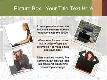 Businesswoman PowerPoint Template - Slide 24