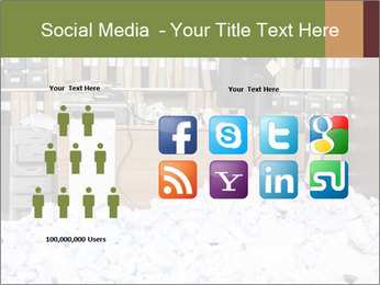 Businesswoman PowerPoint Template - Slide 5