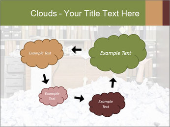 Businesswoman PowerPoint Template - Slide 72
