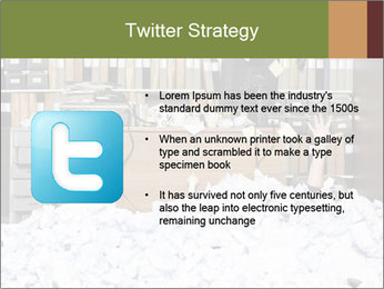 Businesswoman PowerPoint Template - Slide 9