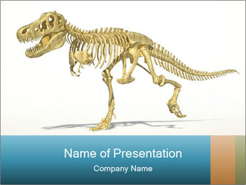 T-Rex PowerPoint Template - Slide 1
