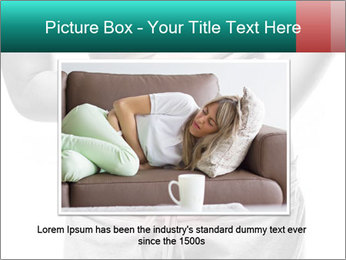Woman with pain PowerPoint Template - Slide 16