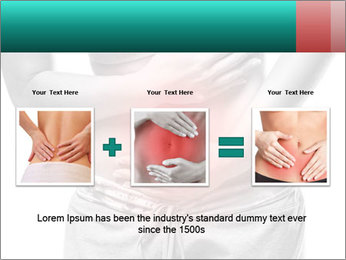 Woman with pain PowerPoint Template - Slide 22