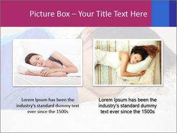 Boy sleeping PowerPoint Template - Slide 18