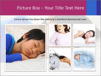 Boy sleeping PowerPoint Template - Slide 19