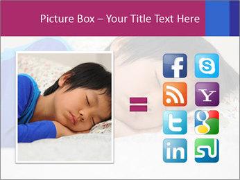 Boy sleeping PowerPoint Template - Slide 21