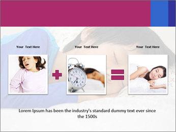 Boy sleeping PowerPoint Template - Slide 22
