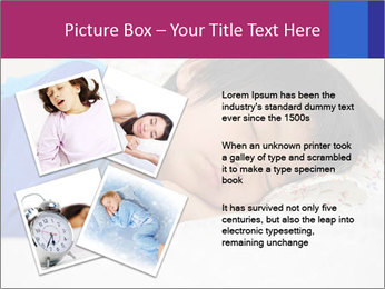 Boy sleeping PowerPoint Template - Slide 23