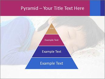 Boy sleeping PowerPoint Template - Slide 30