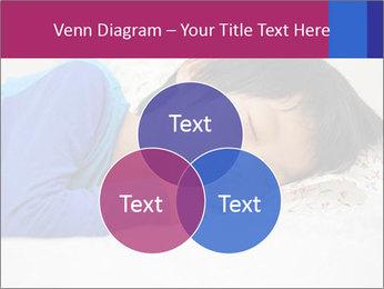 Boy sleeping PowerPoint Template - Slide 33