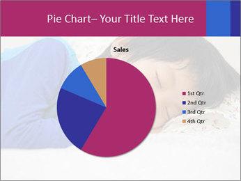 Boy sleeping PowerPoint Template - Slide 36