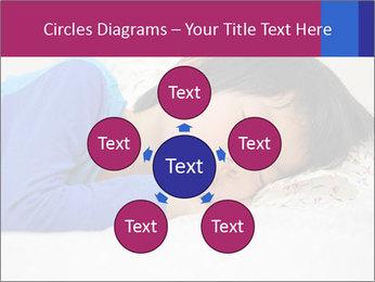 Boy sleeping PowerPoint Template - Slide 78