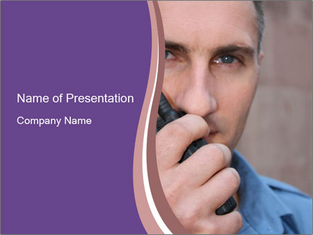 Guard PowerPoint Template