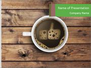 Cup of coffee PowerPoint Templates