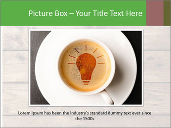 Cup of coffee PowerPoint Template - Slide 15