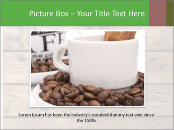 Cup of coffee PowerPoint Template - Slide 16