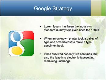 Natural green focus PowerPoint Template - Slide 10