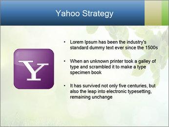 Natural green focus PowerPoint Template - Slide 11