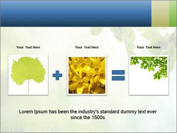 Natural green focus PowerPoint Template - Slide 22