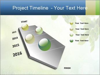 Natural green focus PowerPoint Template - Slide 26