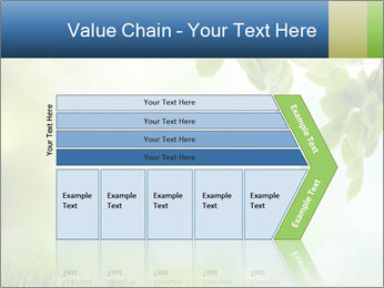 Natural green focus PowerPoint Template - Slide 27