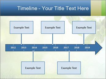 Natural green focus PowerPoint Template - Slide 28