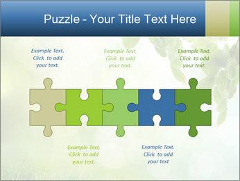 Natural green focus PowerPoint Template - Slide 41