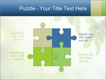 Natural green focus PowerPoint Template - Slide 43