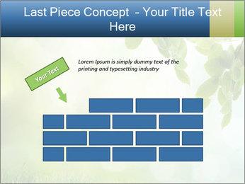 Natural green focus PowerPoint Template - Slide 46