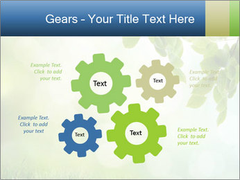 Natural green focus PowerPoint Template - Slide 47