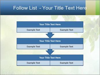 Natural green focus PowerPoint Template - Slide 60