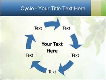 Natural green focus PowerPoint Template - Slide 62