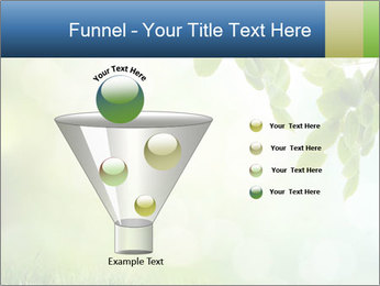 Natural green focus PowerPoint Template - Slide 63