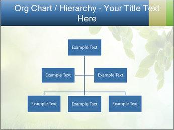 Natural green focus PowerPoint Template - Slide 66