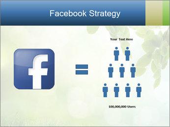 Natural green focus PowerPoint Template - Slide 7