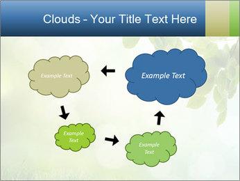 Natural green focus PowerPoint Template - Slide 72