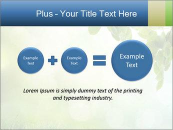 Natural green focus PowerPoint Template - Slide 75