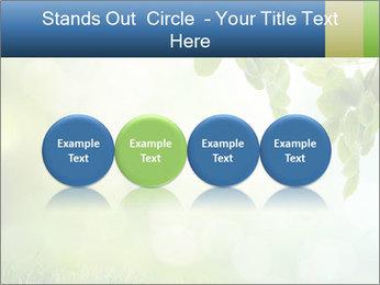Natural green focus PowerPoint Template - Slide 76
