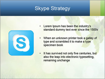 Natural green focus PowerPoint Template - Slide 8