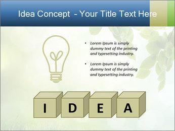 Natural green focus PowerPoint Template - Slide 80