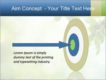 Natural green focus PowerPoint Template - Slide 83