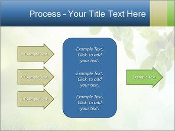 Natural green focus PowerPoint Template - Slide 85