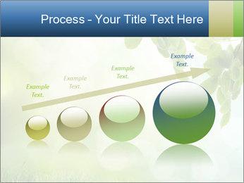Natural green focus PowerPoint Template - Slide 87