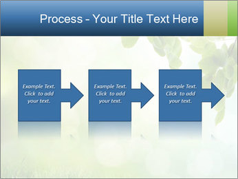 Natural green focus PowerPoint Template - Slide 88