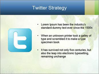 Natural green focus PowerPoint Template - Slide 9