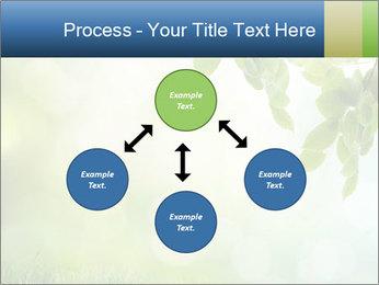 Natural green focus PowerPoint Template - Slide 91