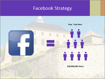Akershus Fortress PowerPoint Template - Slide 7